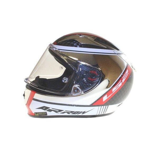 LS2 Arrow C EVO Fury carbon hjelm