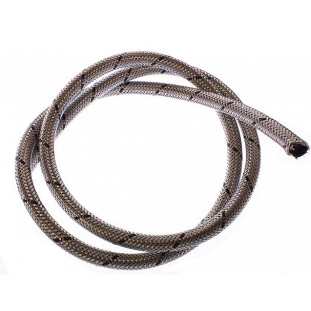 Benzinslange, 6/12 mm., armeret gummi, pr. mtr.