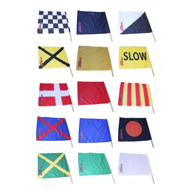 Komplet flagsæt til race