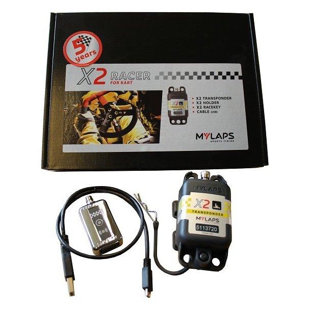 AMB X2 Transponder Kart + 5 års abonnement