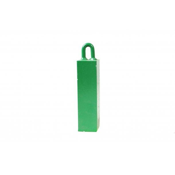 Vægt 2,5 kg, grøn